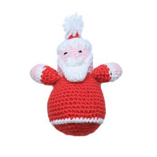 Small Crocheted Santa
